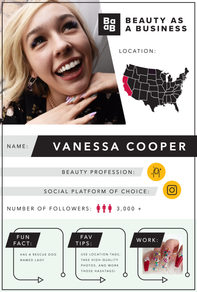 Vanessa Cooper quick facts.
